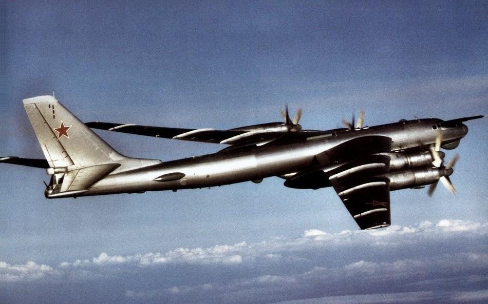 Tu-95 soviético, 1984