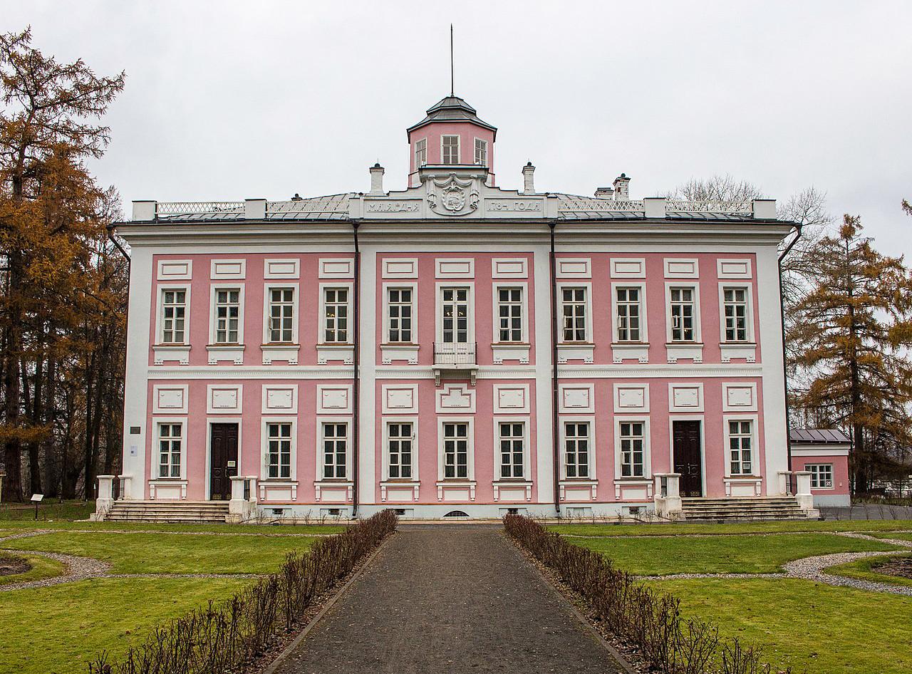 Der Palast der Golizyn-Fürsten bei Wjasjomy