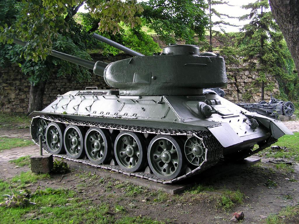 T-34 en el Museo Militar de Belgrado.