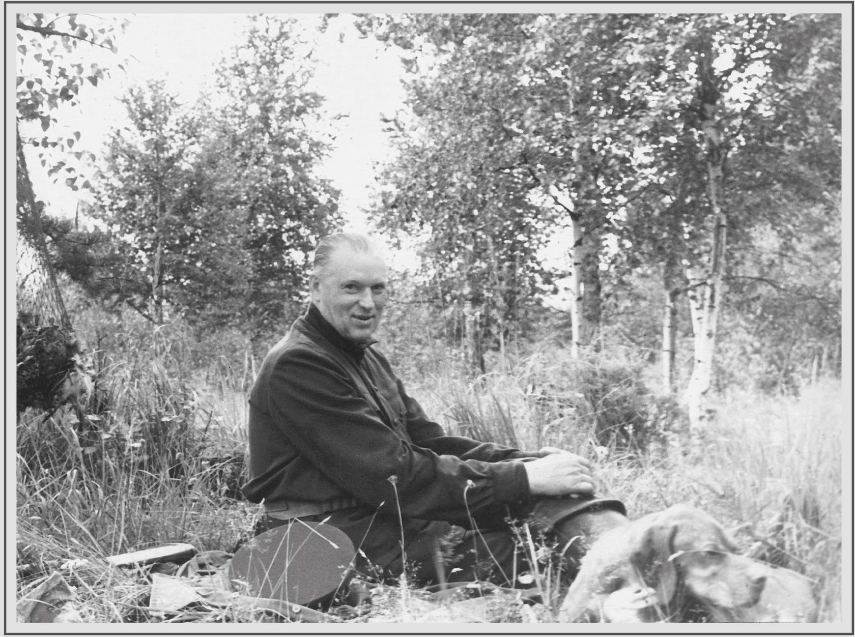 Константин Рокосовски у лову.