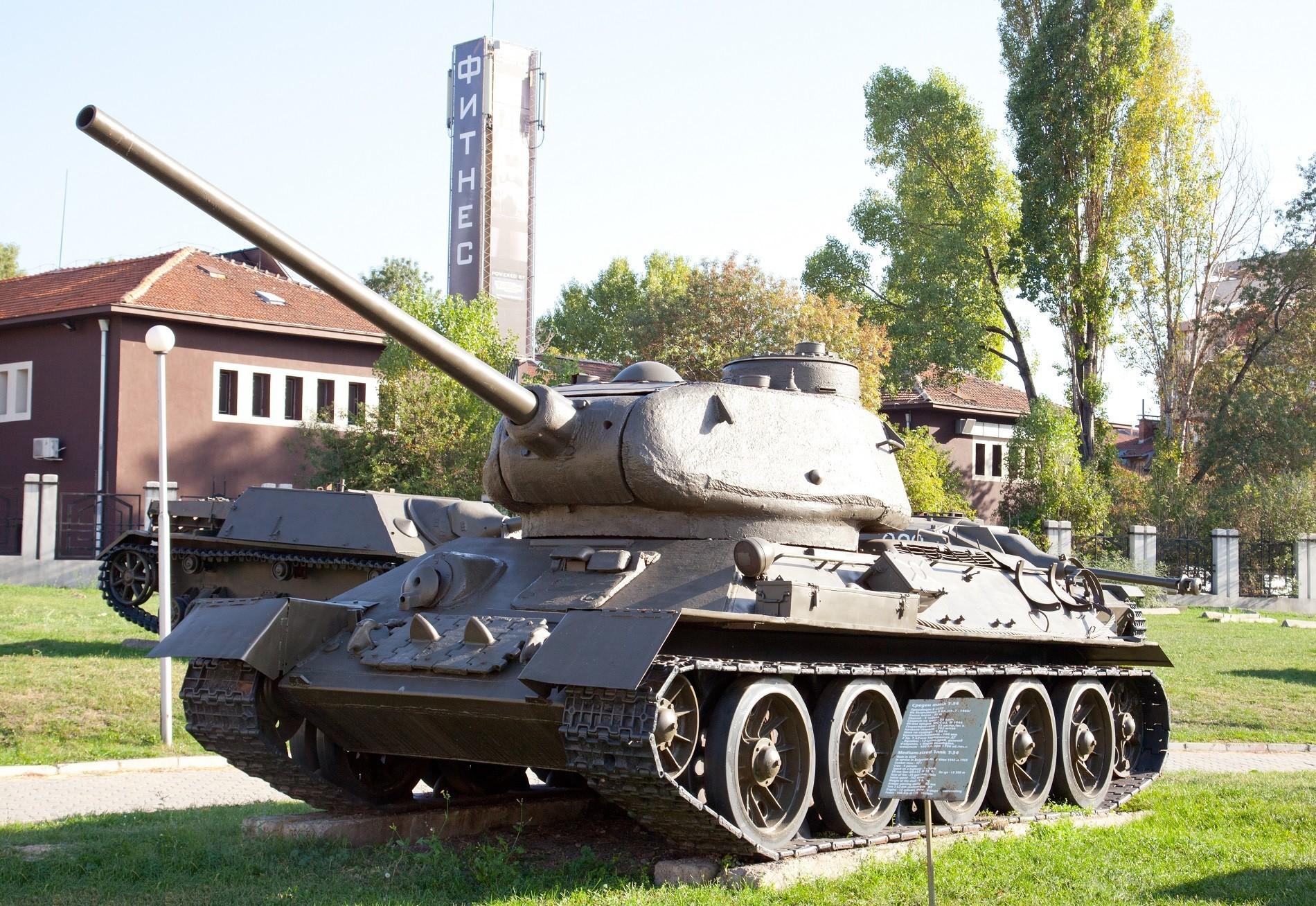 T-24 u Nacionalnom muzeju vojne povijesti Sofije.