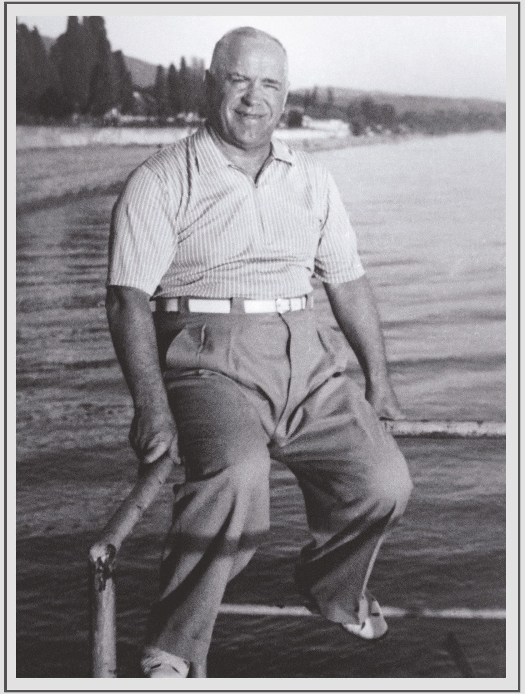 Маршал Жуков на почивка в Сочи