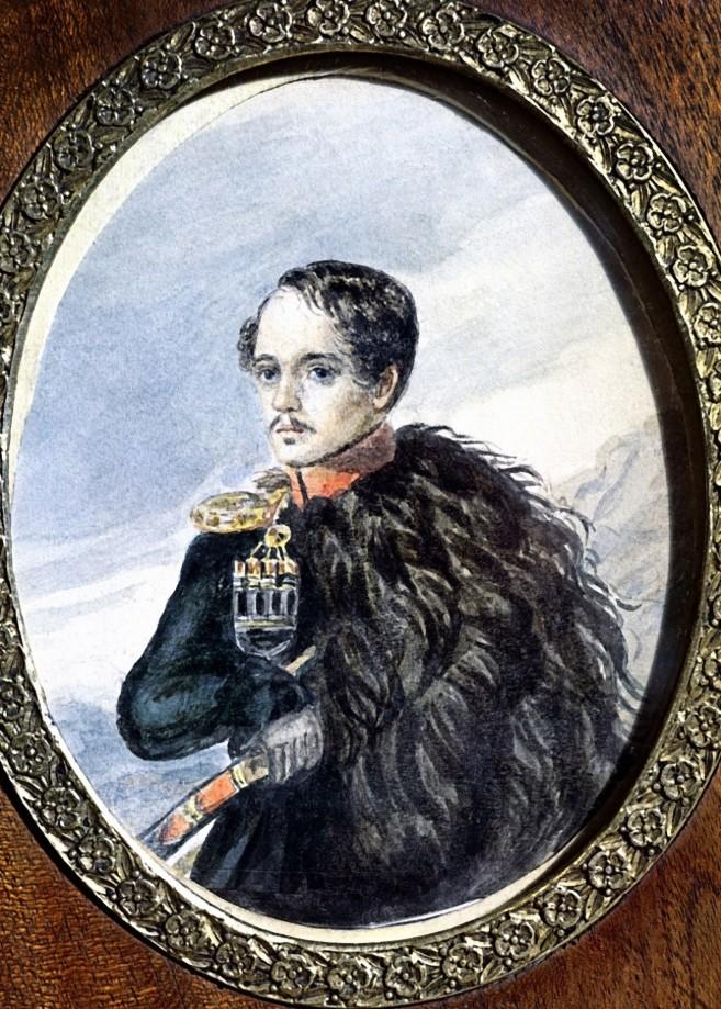 Mikhail Lermontov.