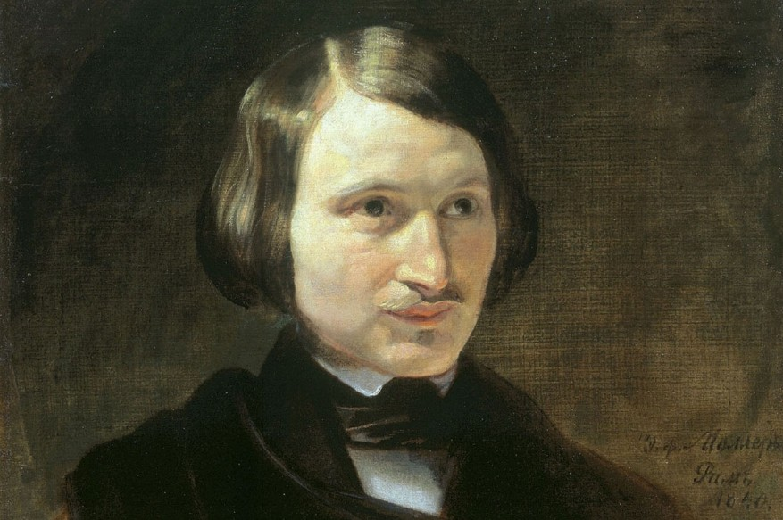 Portret Nikolai Gogol oleh Fyodor Moller.