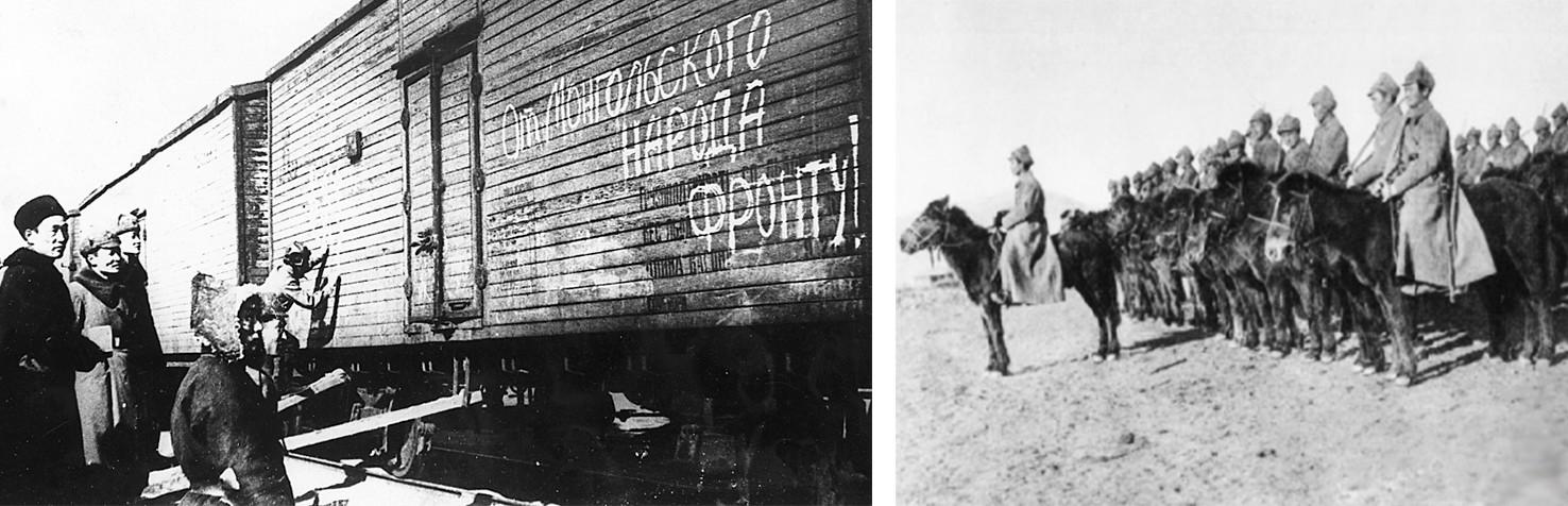 Konji iz Mongolije za Sovjetsko zvezo, 1942
