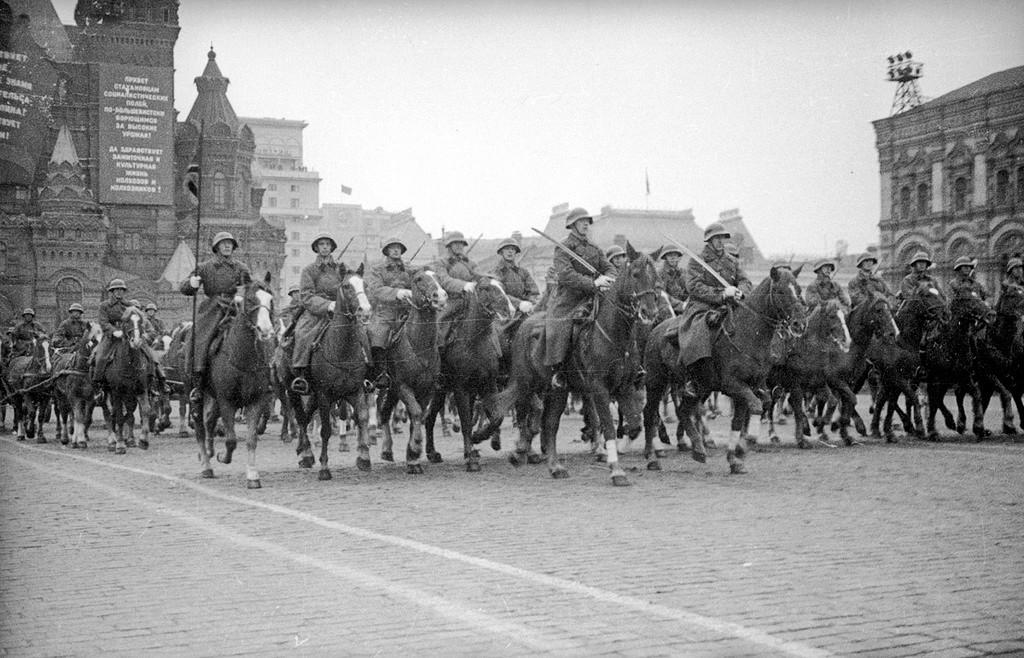 Vojaška parada na Rdečem trgu