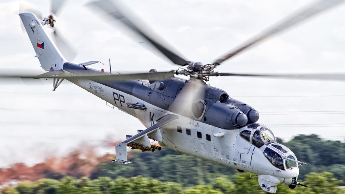 Mi-24V de la República Checa.