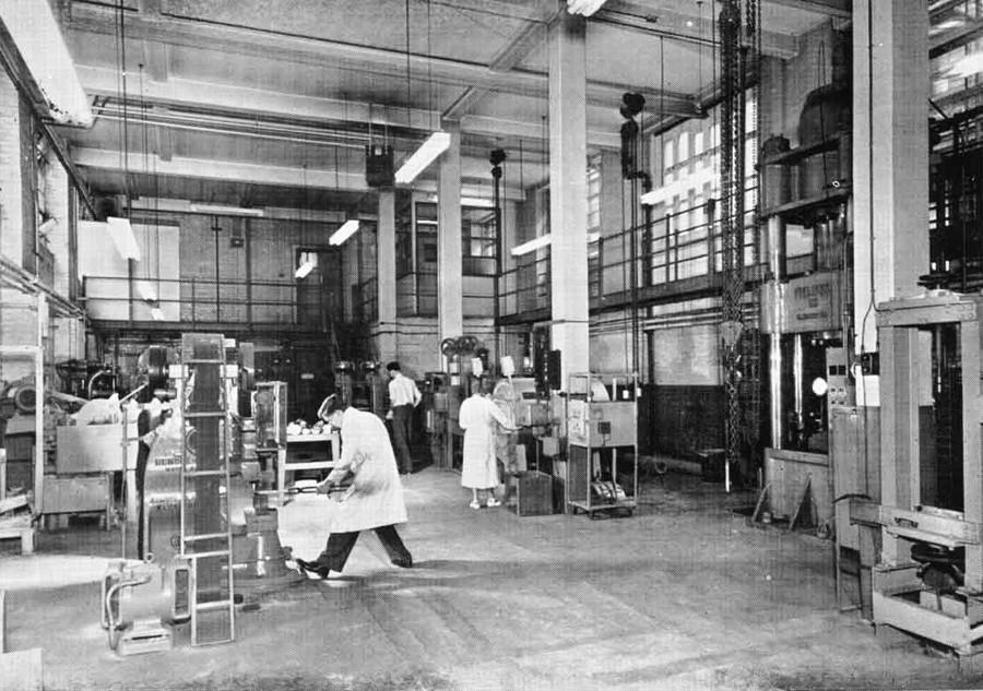 Die britische Forschungsgesellschaft für Nichteisenmetalle