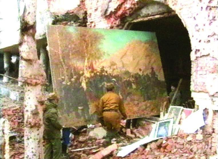 Extraction du tableau de Franz Roubaud