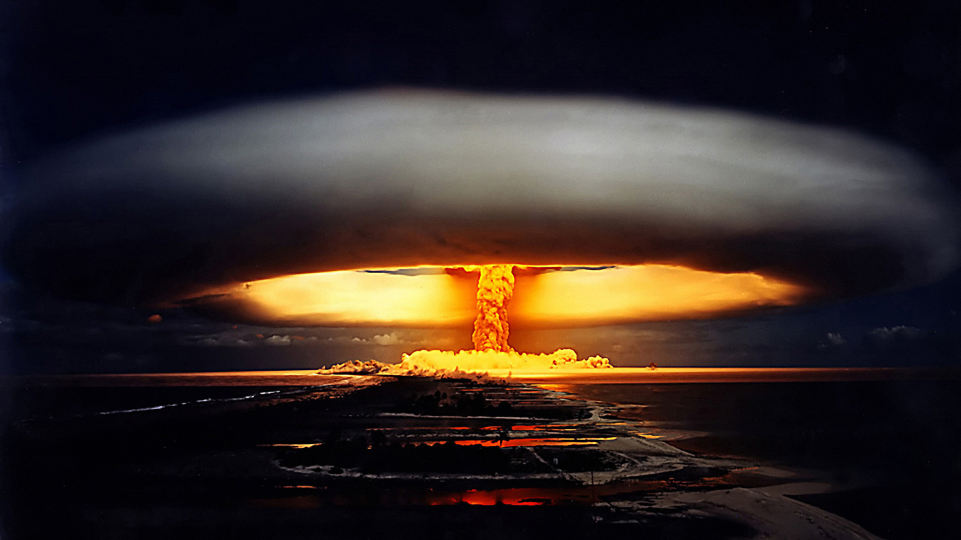 A nuclear mushroom is always a breathtaking yet deadly view.