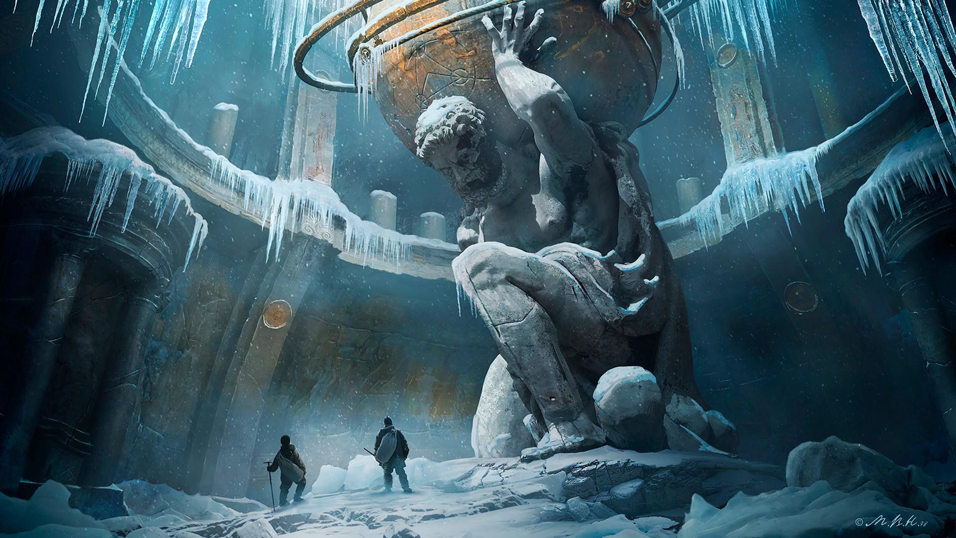Post-apocalyptic art by Vladimir Manyukhin.