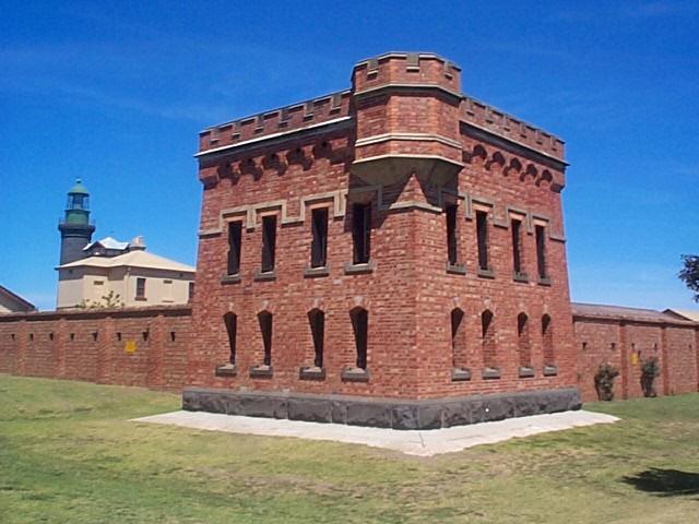 Stara trdnjava Fort Queenscliff