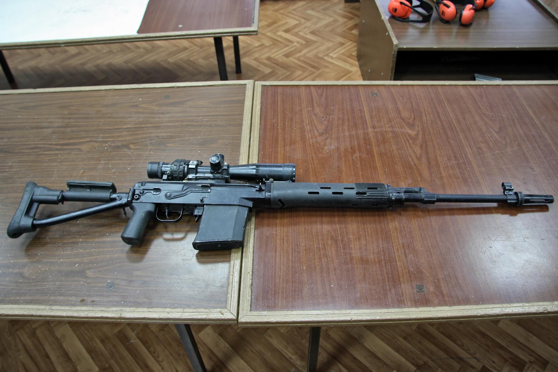 Снајперска пушка СВДК