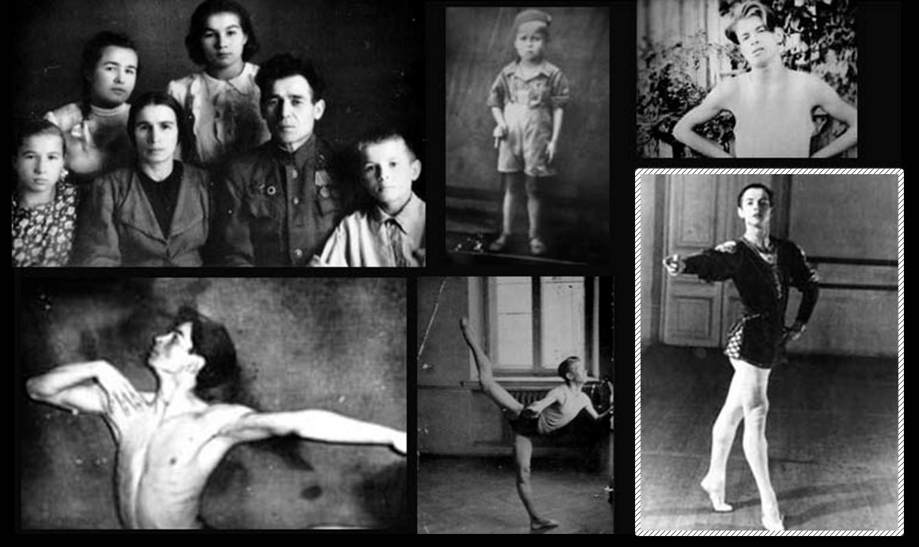 若いルドルフ・ヌレエフ
