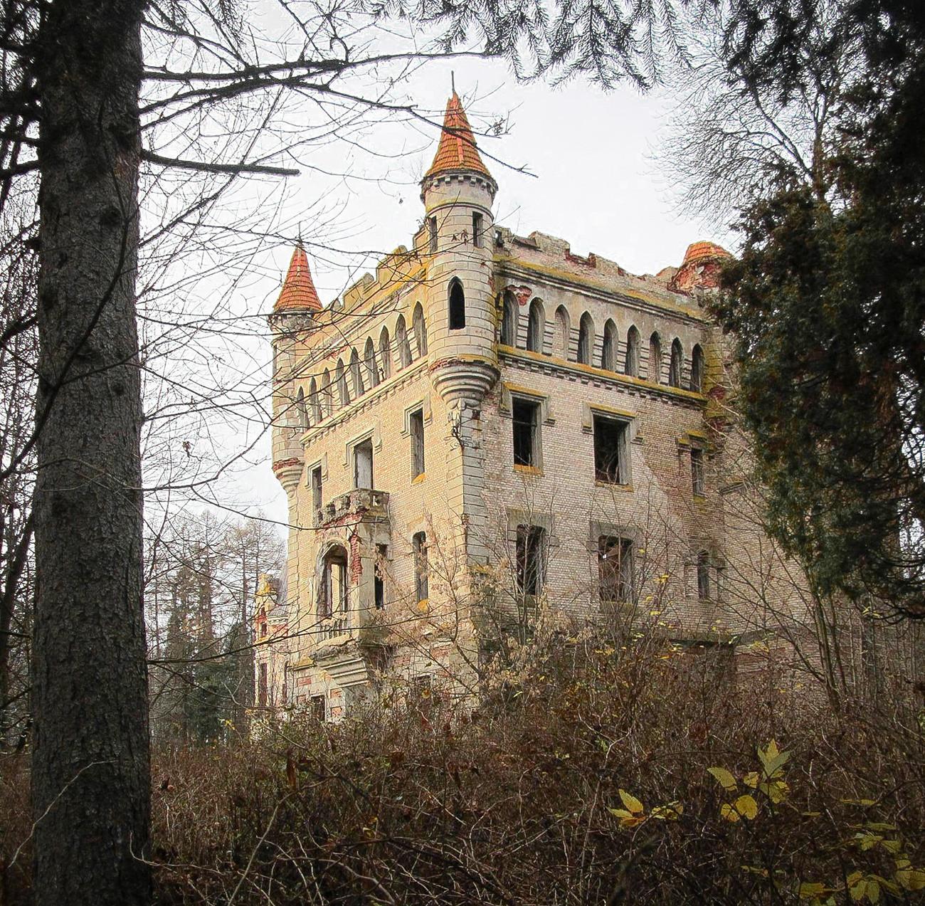 Château de Mouromtsevo (225 km à l'est de Moscou) dans la région de Vladimir.