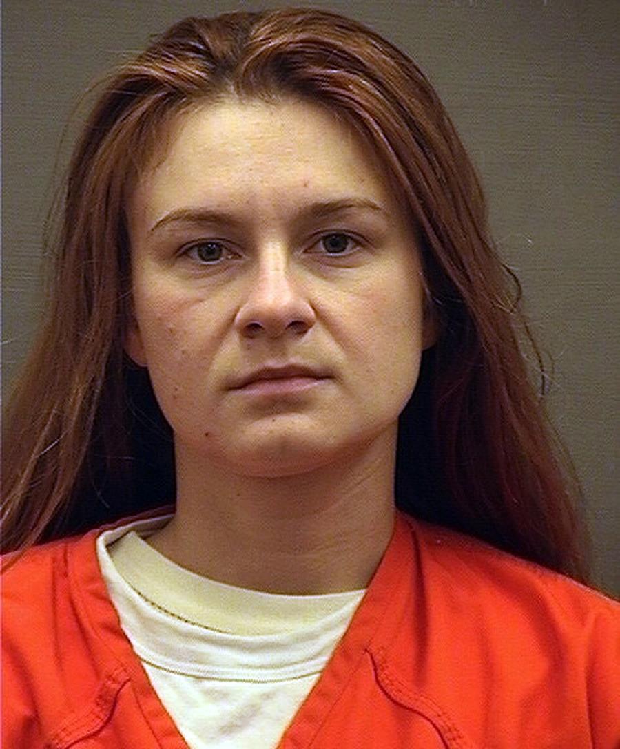 Вашингтон, Колумбија, САД. Марија Бутина на суд призна дека како агент дејствувала во САД во интерес на Русија.
