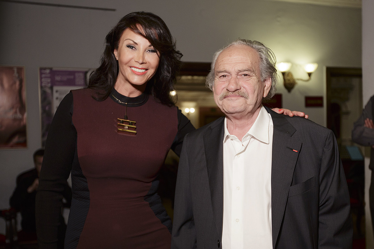 Stella Kesaeva e Jannis Kounellis