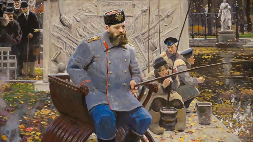 "Pavel Ryzhenko. ""Aleksander III."""