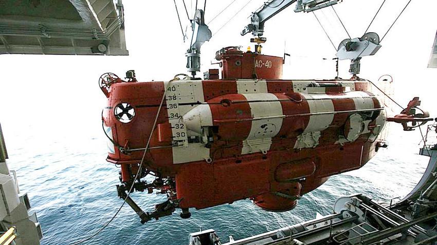 Globokovodna reševalna naprava AS-40