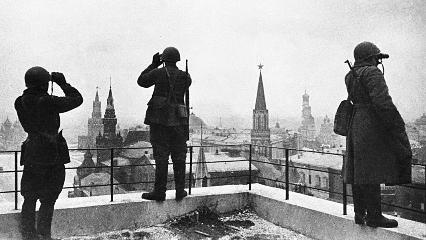 1. август 1941. Одбраната на Москва.
