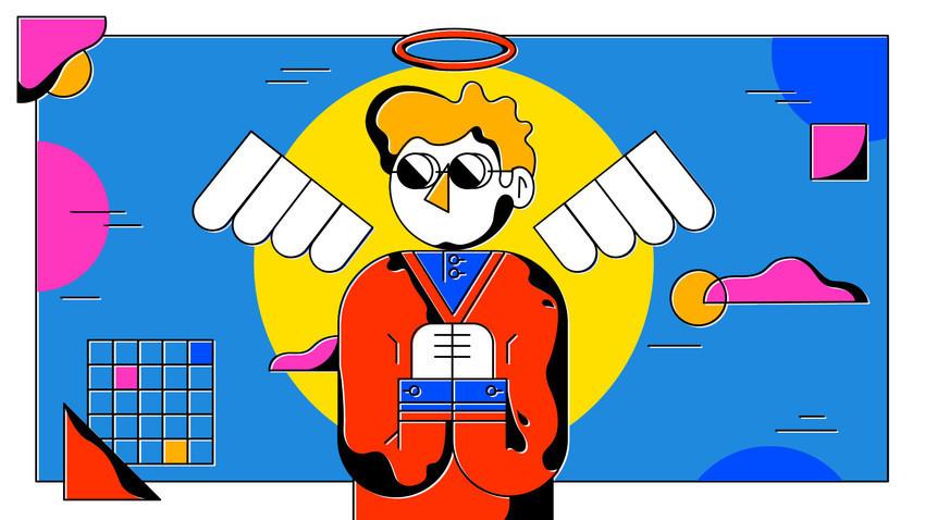 Para anggota kaum intelektual Rusia pada dasarnya dekat dengan para malaikat: ideal dan tidak ada yang tahu jika mereka ada.