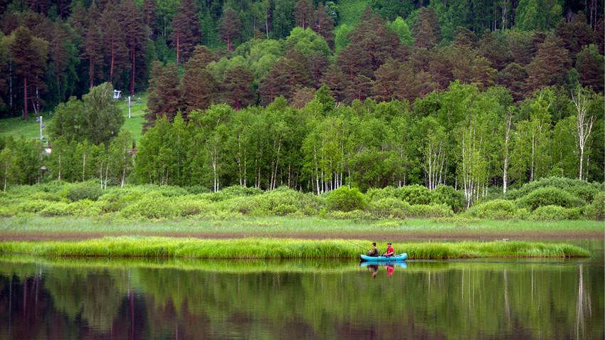 Езеро в Алтай