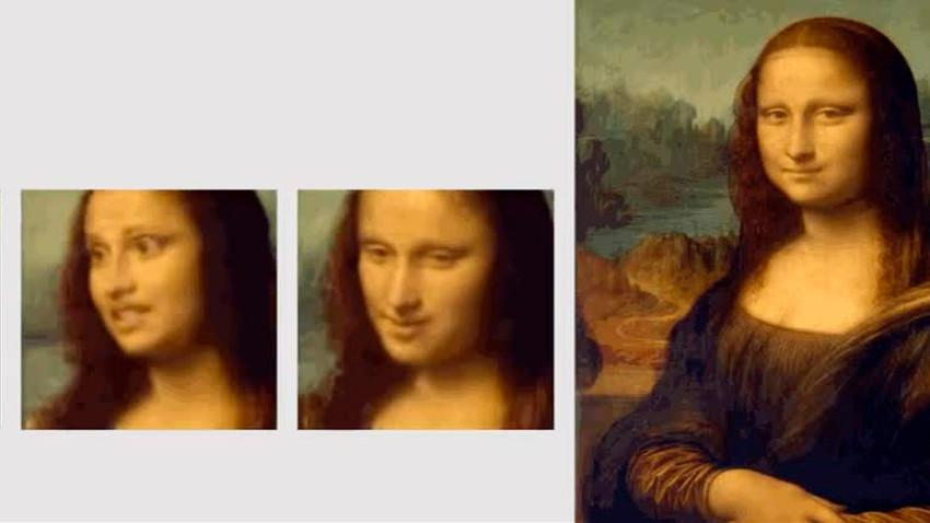 Sapalah Mona Lisa, sekarang ia hidup dan bisa berbicara.