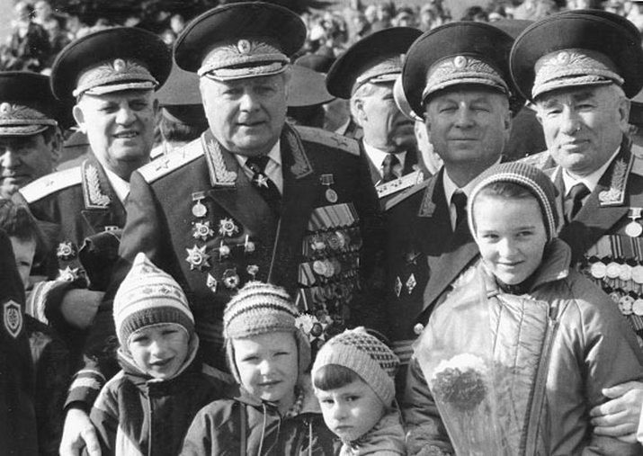 Владимир Михајлович Михалкин, маршал на артилеријата.