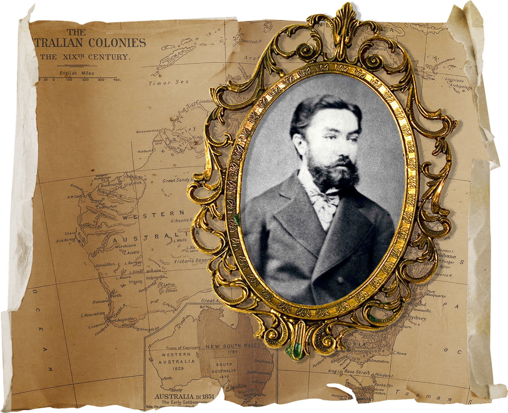 Aleksêi Putiáta (1855-1894), o primeiro cônsul russo em Melbourne.