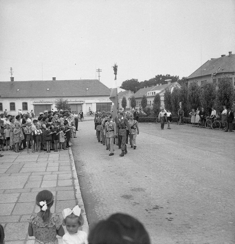 Osvoboditev Murske Sobote, 1945