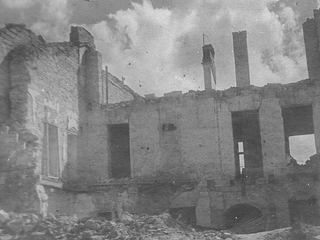 Bangunan tempat tinggal di Leninskaya ulitsa.