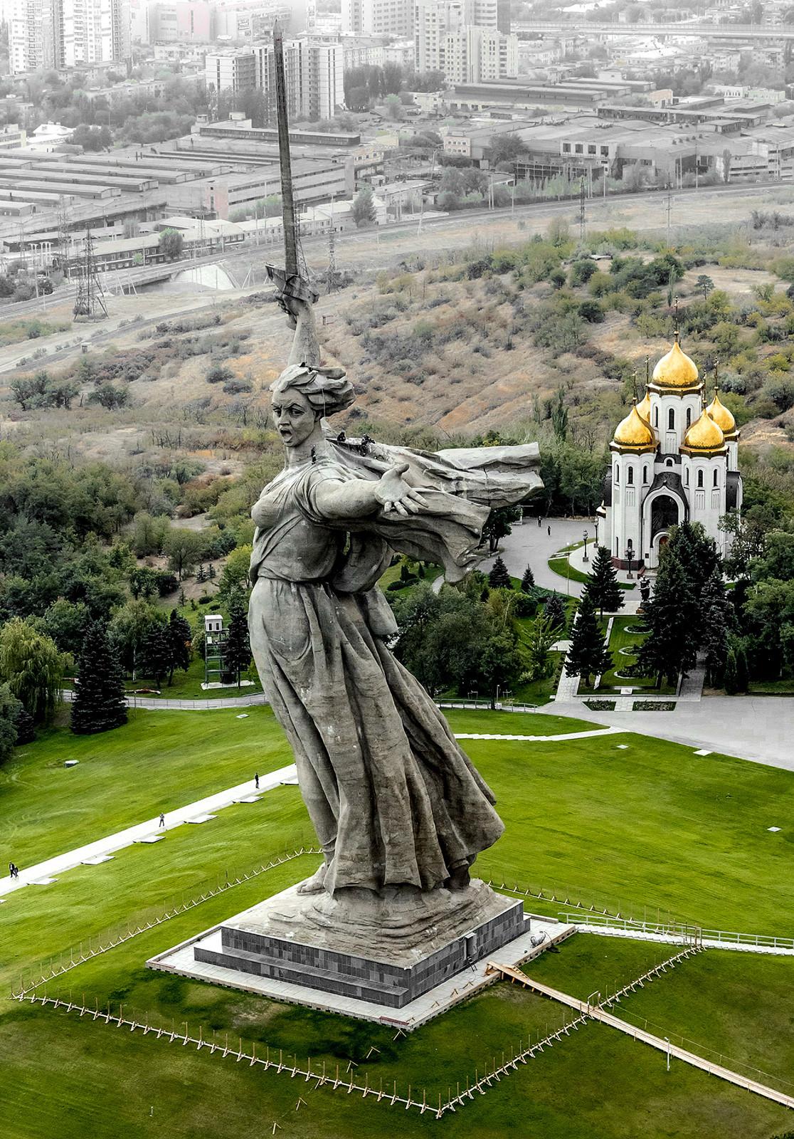 Mãe Pátria, Volgogrado