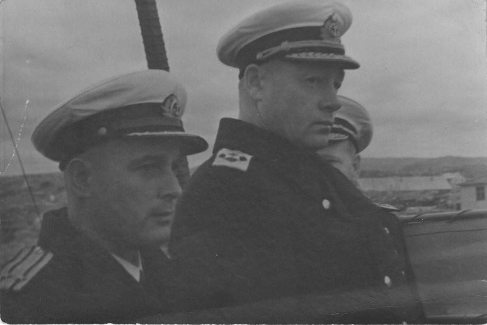 Николај Кузнецов, главен командант на воената морнарица на Северниот фронт.