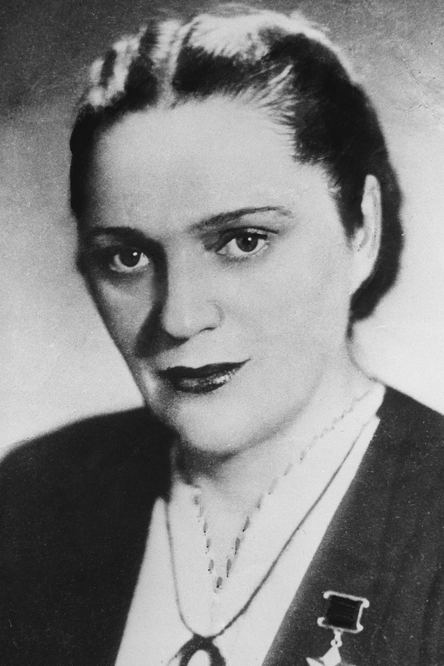 Jelena Mazanik, Heroj Sovjetskog Saveza