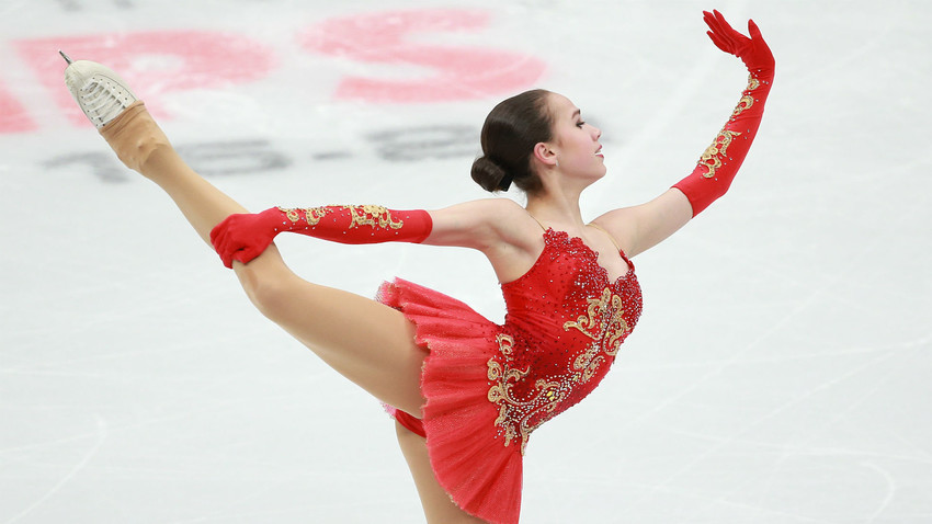 Alina Zaguítova.