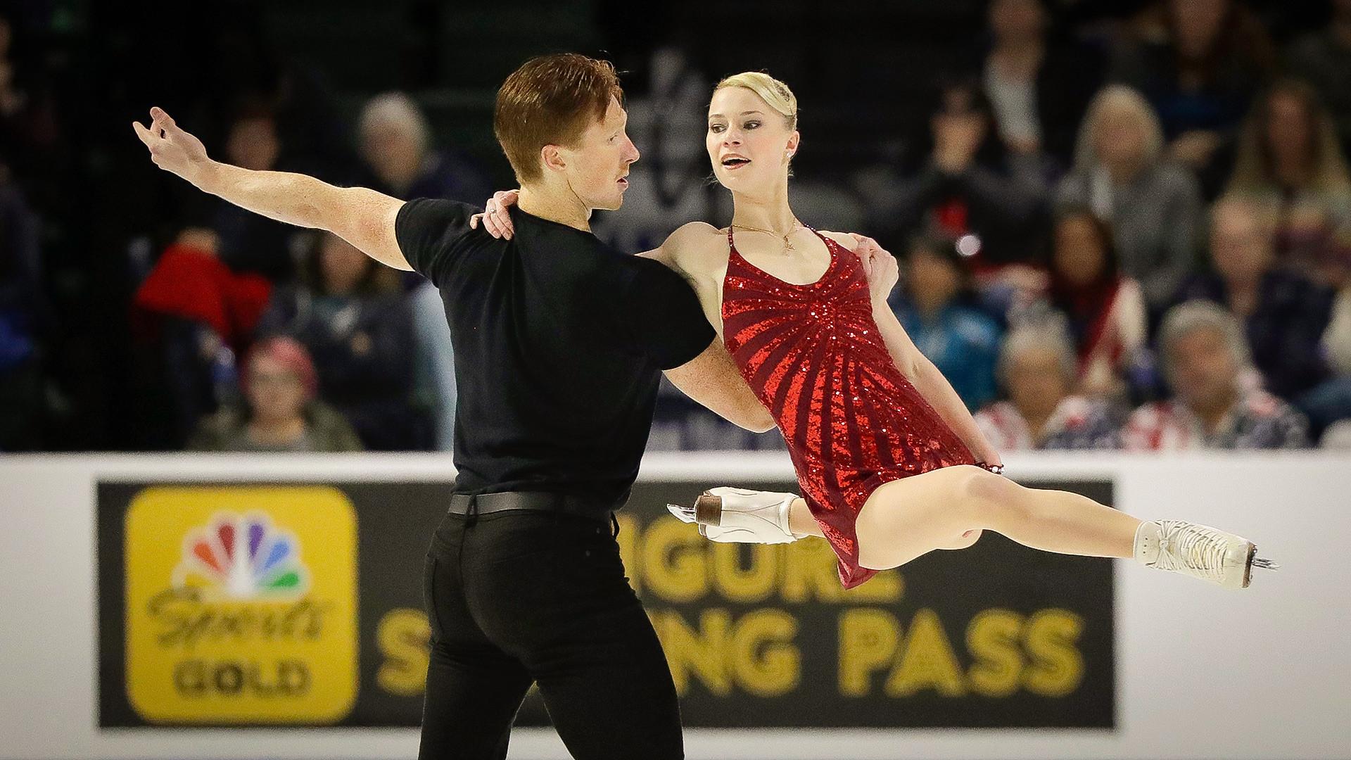 Evguenia Tarásova y Vladímir Morózov.
