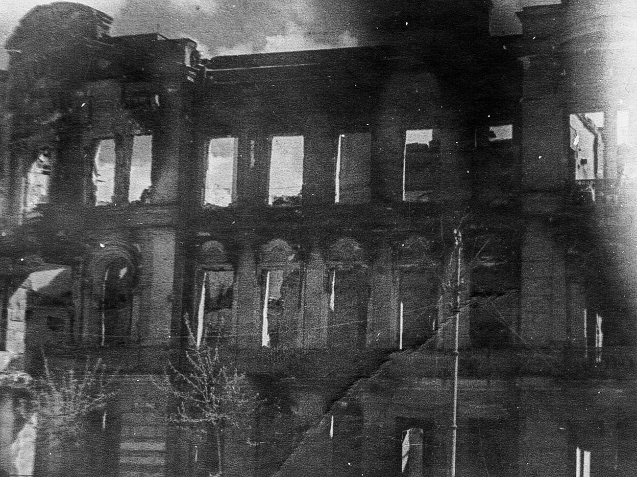 Edificio residencial en la calle Lenin.