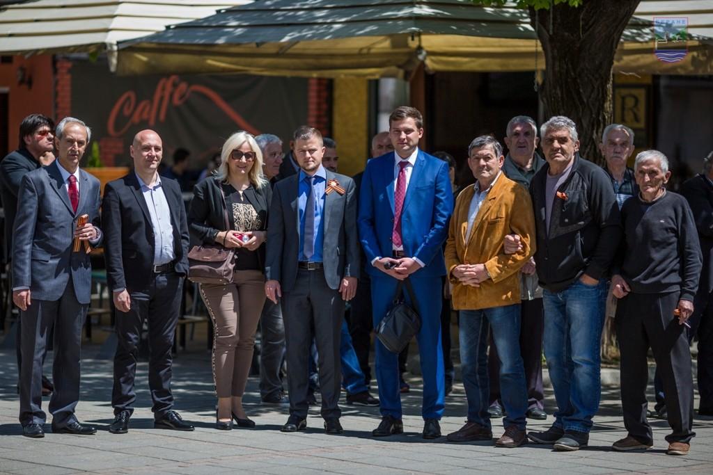 Представници амбасаде РФ у Беранама са локланим функционерима