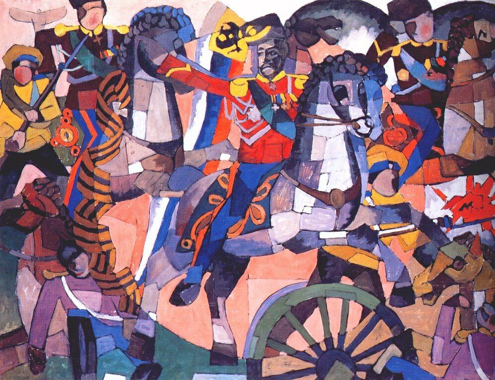 A batalha da vitória, 1914