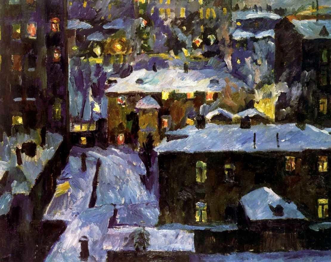 Noite no lago Patriarchie, 1928