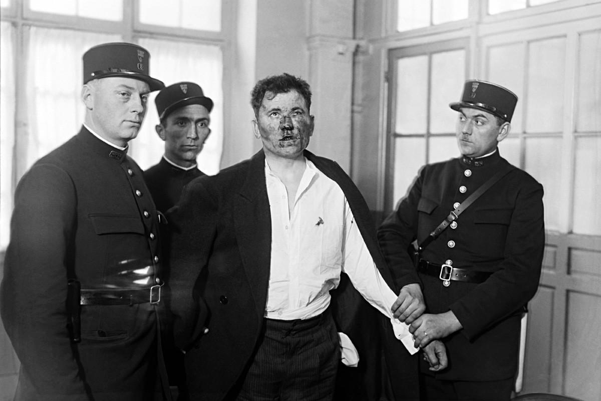 Pariz, Francuska, 6. svibnja 1932. / Pavel Gorgulov, ubojica francuskog predsjednika Paola Doumera.
