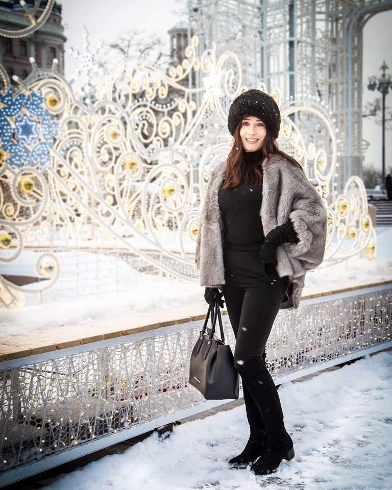 Centar Moskve po zimi.