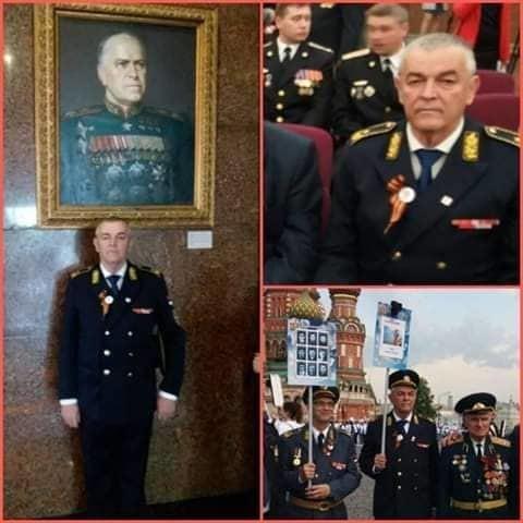 Генерал Делић у Москви, мај 2019.