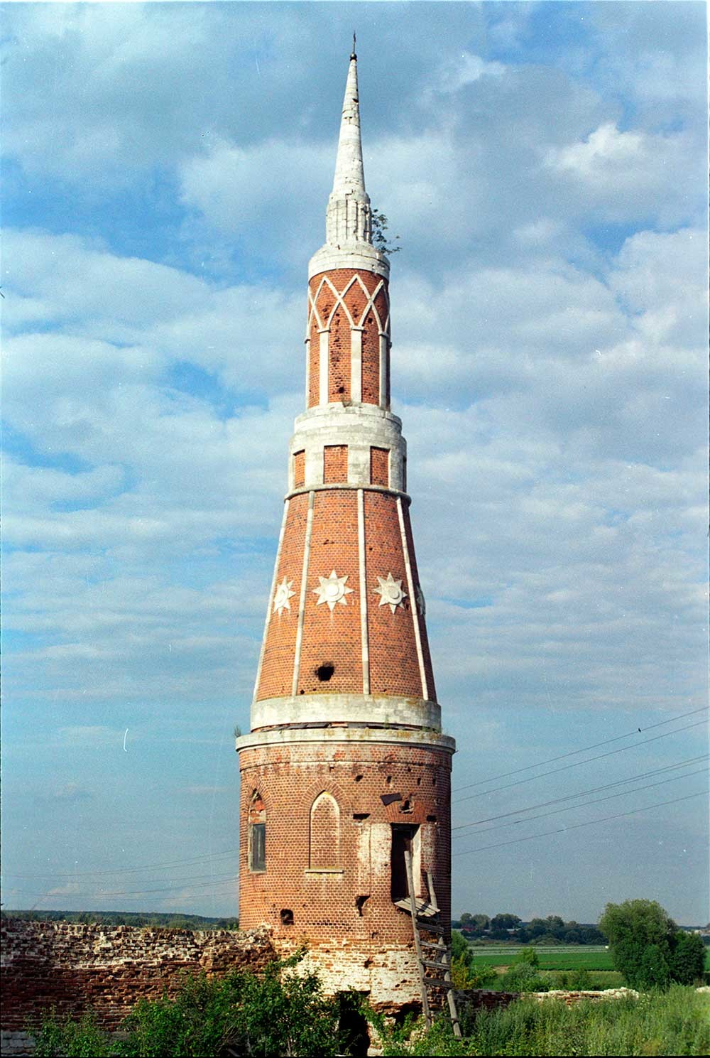 Monastero Staro-Golutvin. Torre nord-est. 21 luglio 2006