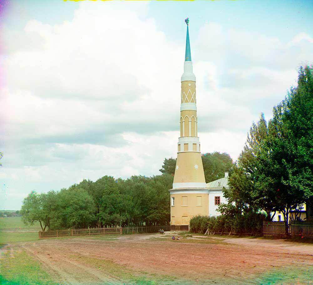Monastero Staro-Golutvin. Torre angolare nord-occidentale. Estate 1912