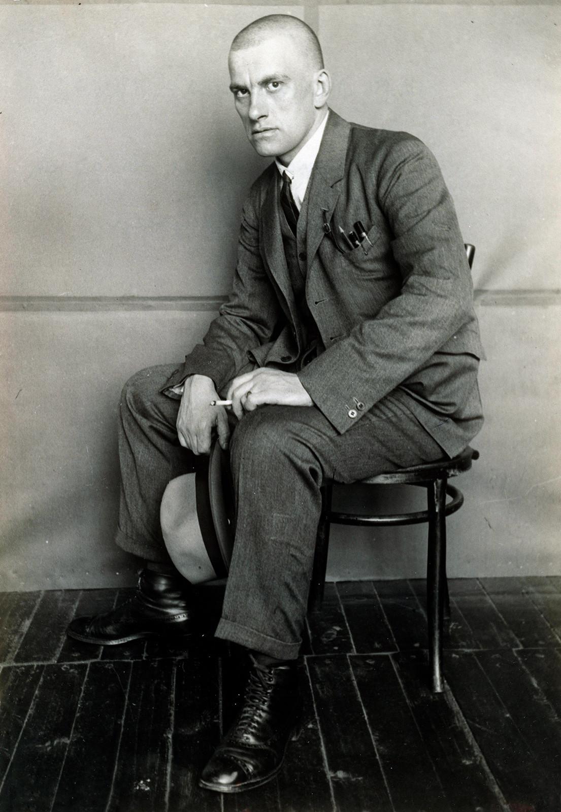 Portrait de Vladimir Maïakovski, 1924