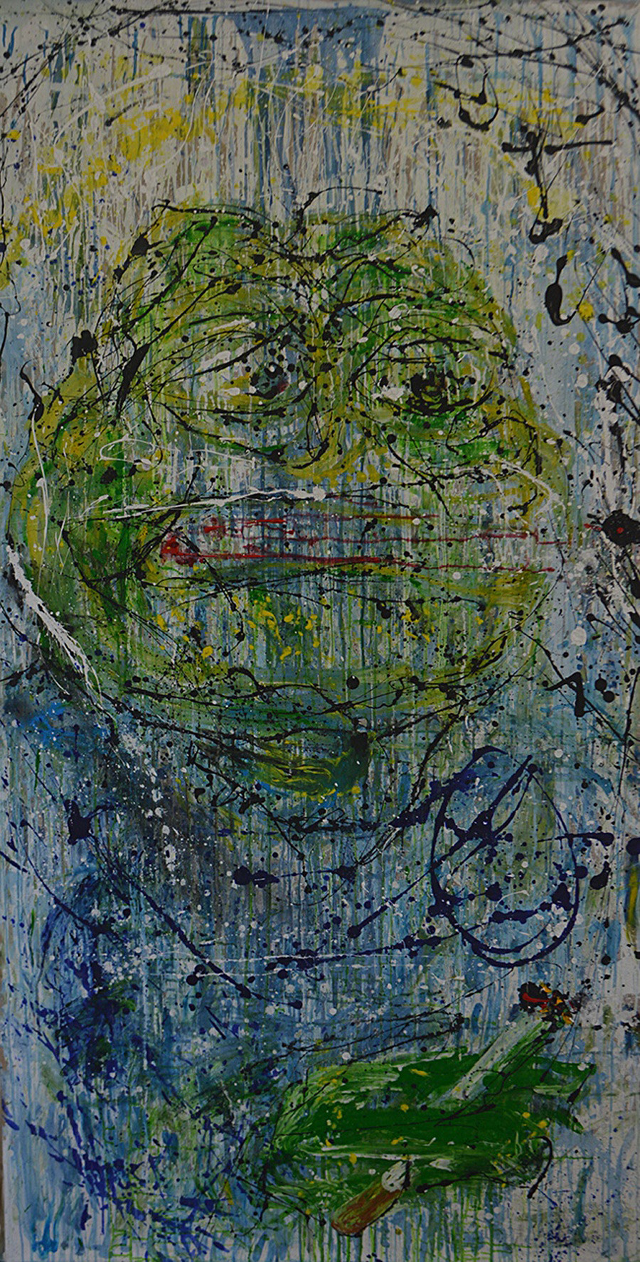 Pepe Pollock (based on several works by Jackson Pollock).