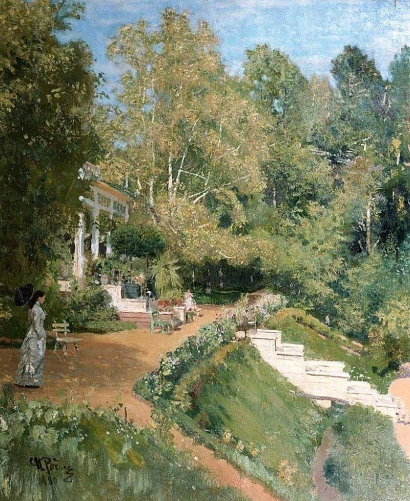 Ilya Repin. Abramtsevo (1880)