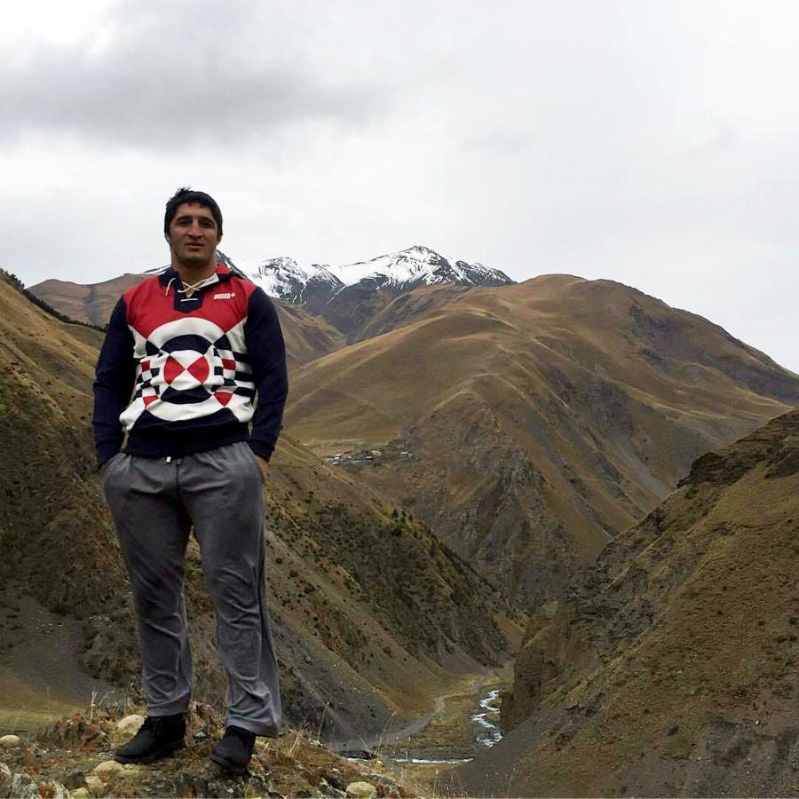 Abdulrashid em sua terra natal