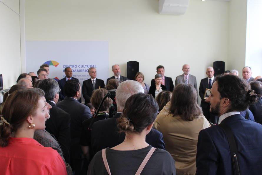 Embaixador do Brasil e equipe estiveram presentes na cerimônia